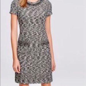 Ann Taylor Tweed Pocketed Dress